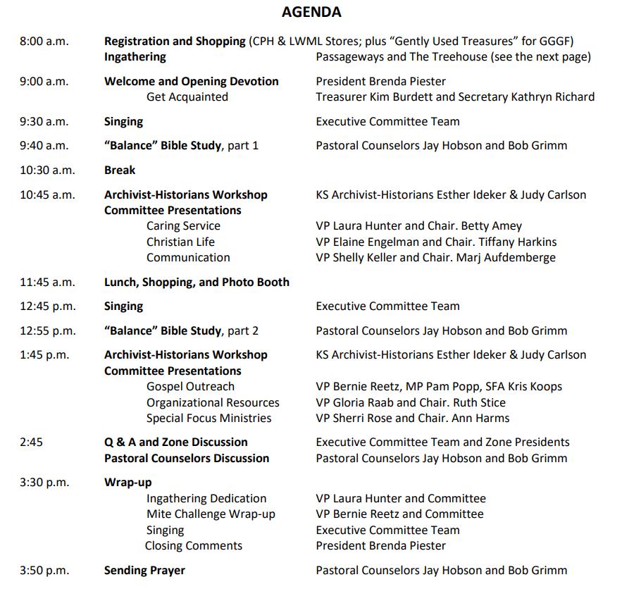 Kaol 2017 Agenda