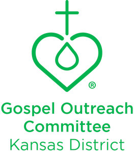 KSLWML Gospel Outreach Committee Green logo