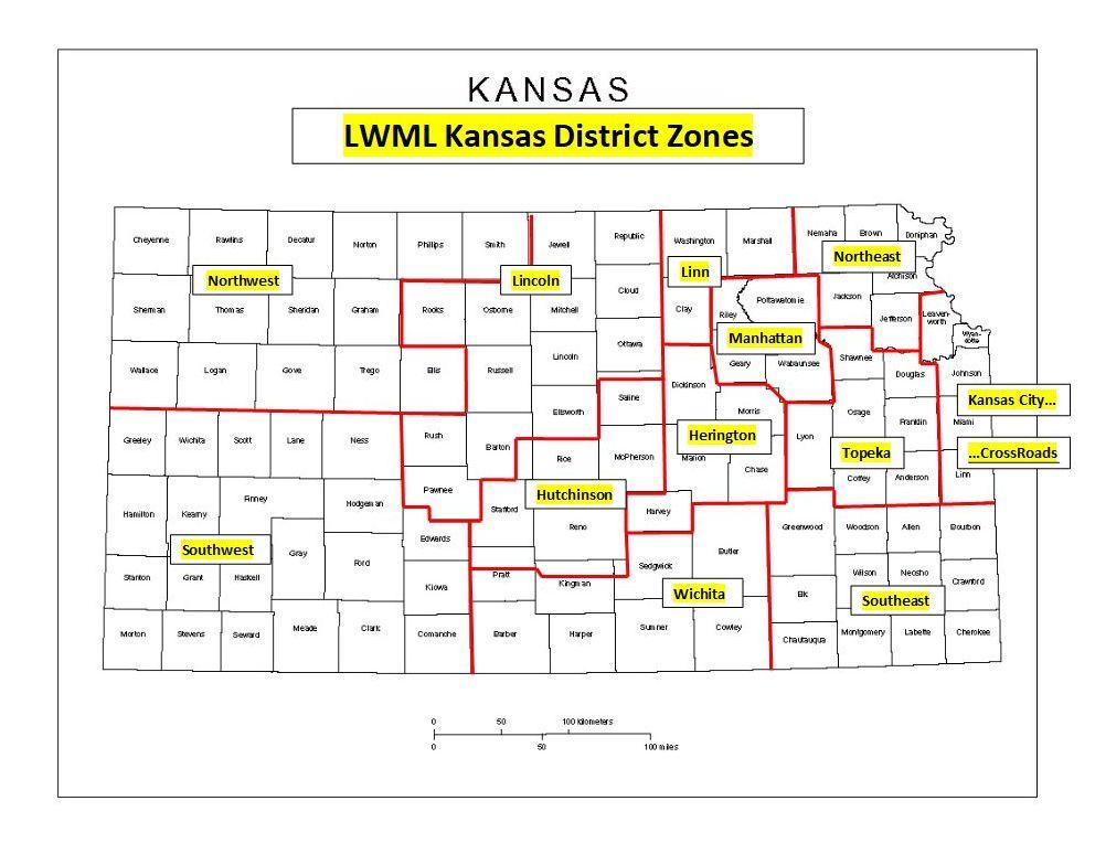 KSLWML Zones Map 2020